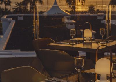 Zachód słońca z perspektywy naszej restauracji